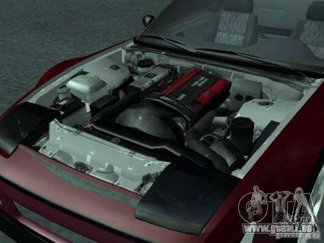 Nissan 240 SX pour GTA San Andreas vue intérieure
