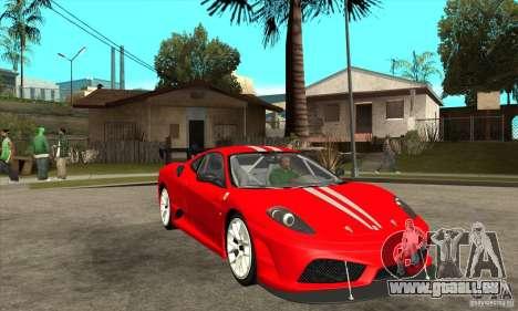 Ferrari F430 Scuderia 2007 FM3 für GTA San Andreas Rückansicht