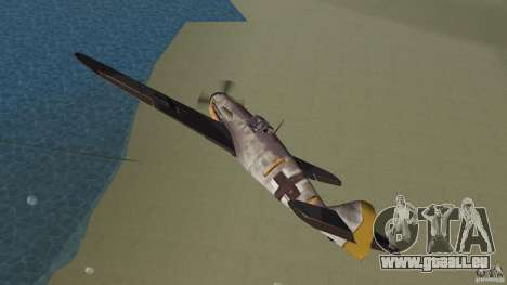 WW2 War Bomber für GTA Vice City Innenansicht