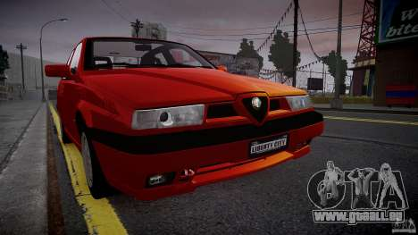 Alfa Romeo 155 Q4 1992 für GTA 4 linke Ansicht