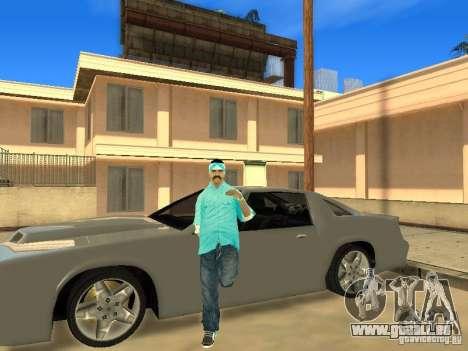 Skinpack Rifa Gang pour GTA San Andreas deuxième écran