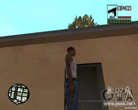 Tula Tokarev TT für GTA San Andreas dritten Screenshot