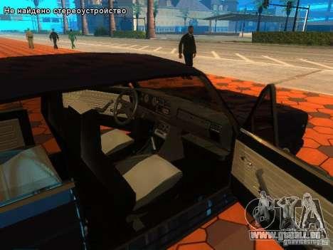 VAZ 2107 für GTA San Andreas Innen