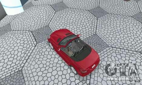 Mercedes-Benz SLK 350 für GTA San Andreas zurück linke Ansicht