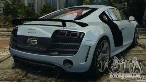 Audi R8 GT 2012 pour GTA 4 Vue arrière de la gauche