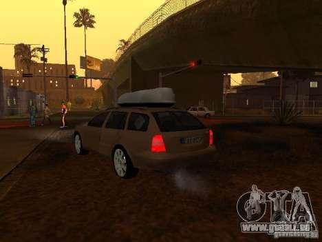 Skoda Octavia pour GTA San Andreas moteur
