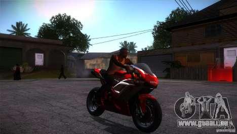 Ducati 1098 für GTA San Andreas Rückansicht