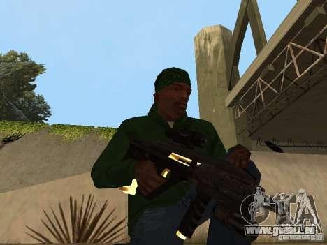 Pak Golden Waffen für GTA San Andreas siebten Screenshot
