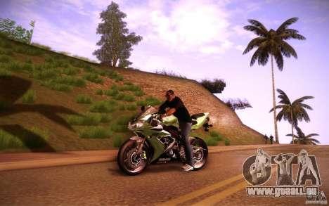 Yamaha YZF R1 pour GTA San Andreas laissé vue