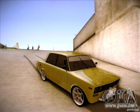Dérive de VAZ 2106 pour GTA San Andreas vue intérieure