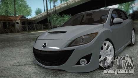 Mazda Mazdaspeed3 2010 für GTA San Andreas Innenansicht