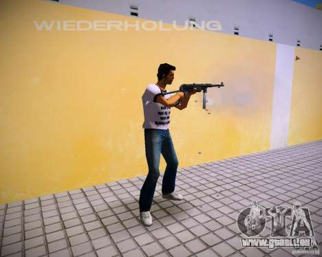 MP-40 für GTA Vice City zweiten Screenshot