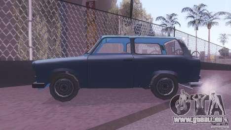 Trabant 601S für GTA San Andreas Rückansicht
