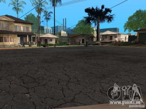 Neue Wege in der Grove Street für GTA San Andreas zweiten Screenshot
