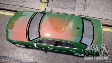 Chrysler 300C SRT8 Tuning pour GTA 4 est une vue de l'intérieur