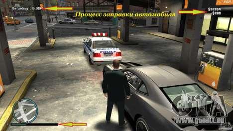Remplissage pour GTA 4 secondes d'écran