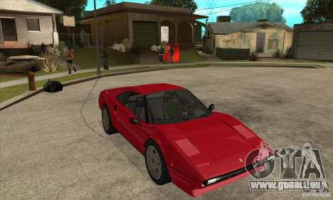 Ferrari 308 GTS Quattrovalvole pour GTA San Andreas vue arrière
