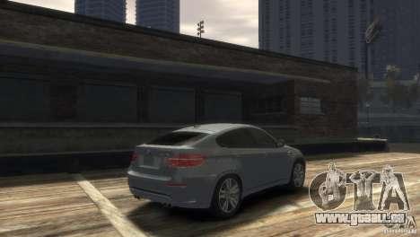 BMW X6M für GTA 4 hinten links Ansicht