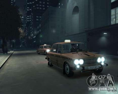 VAZ 2106 Taxi pour GTA 4 est un côté