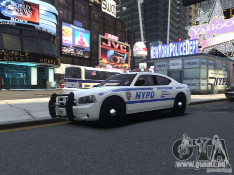 Dodge Charger NYPD für GTA 4