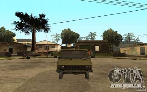 UAZ 3972 pour GTA San Andreas vue de droite
