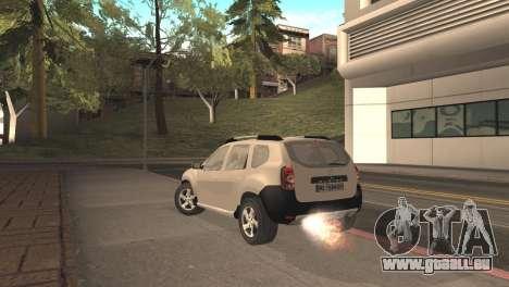 Dacia Duster für GTA San Andreas linke Ansicht