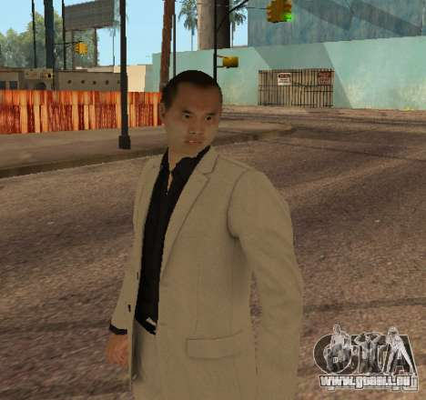 Red Dragon Clan Yakuza für GTA San Andreas