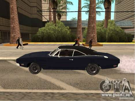 Dodge Charger RT Light Tuning für GTA San Andreas linke Ansicht