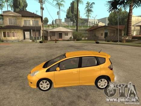 Honda Jazz (Fit) pour GTA San Andreas laissé vue