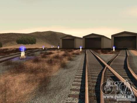 Feux de circulation ferroviaire 2 pour GTA San Andreas cinquième écran
