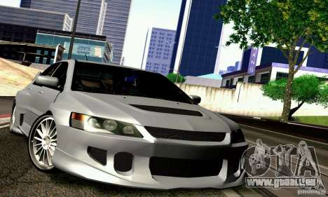 Mitsubishi Lancer Evo VII für GTA San Andreas