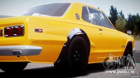 Nissan Skyline 2000 GT-R pour GTA 4 est un côté