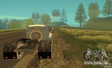 ZIL 164 tracteur pour GTA San Andreas vue de droite