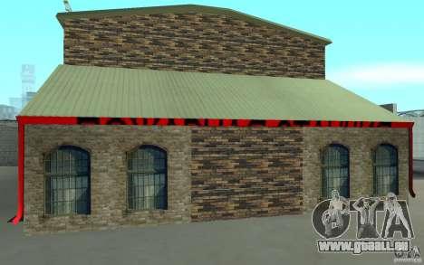 Caserne de pompiers russe à San Fierro pour GTA San Andreas deuxième écran