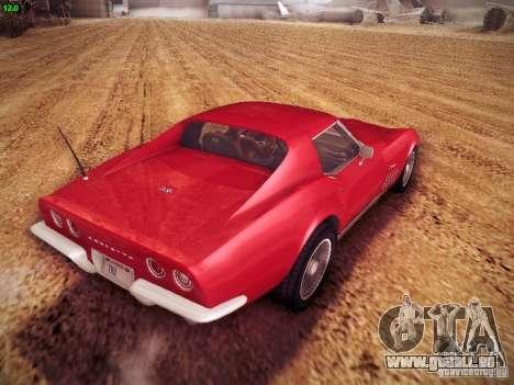Chevrolet Corvette Stingray 1968 für GTA San Andreas linke Ansicht