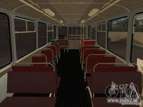 LIAZ 677 für GTA San Andreas Rückansicht