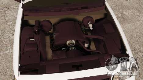 Ford Crown Victoria Unmarked ELS für GTA 4 Rückansicht