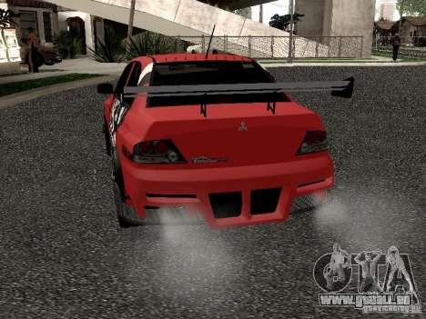 Mitsubishi Lancer Evo 8 für GTA San Andreas rechten Ansicht