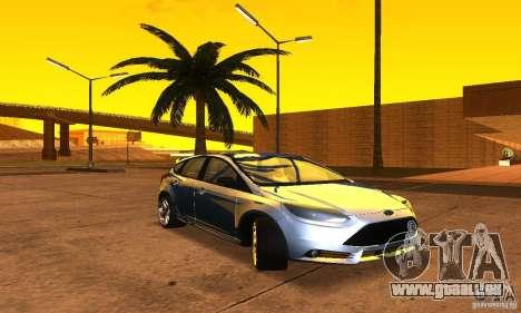 Ford Focus 3 pour GTA San Andreas vue de droite