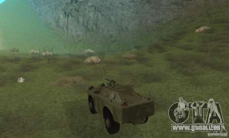 BRDM-1 Haut 3 für GTA San Andreas rechten Ansicht