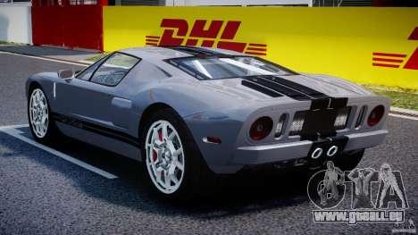 Ford GT 2006 v1.0 pour GTA 4 est un droit