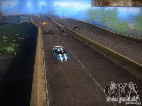 New Infernus für GTA San Andreas zurück linke Ansicht