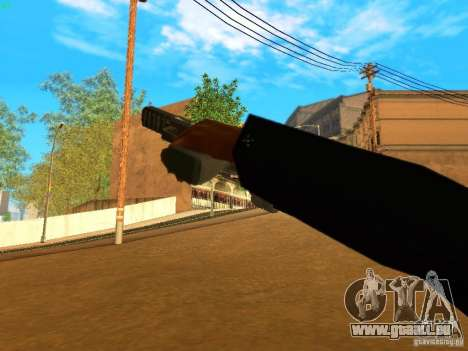 Five-Seven MW3 für GTA San Andreas fünften Screenshot