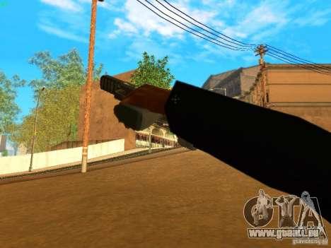 Five-Seven MW3 pour GTA San Andreas cinquième écran