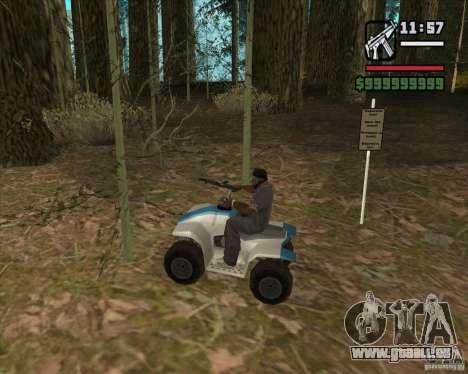 Haus Jäger v3. 0 Final für GTA San Andreas achten Screenshot