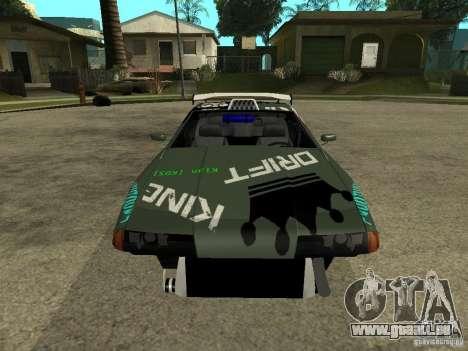 Vinyle sur l'élégie pour GTA San Andreas troisième écran