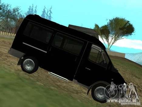 GAZ 2217 FSB pour GTA San Andreas laissé vue