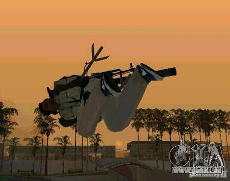Animations de recrutement de GTA IV pour GTA San Andreas cinquième écran