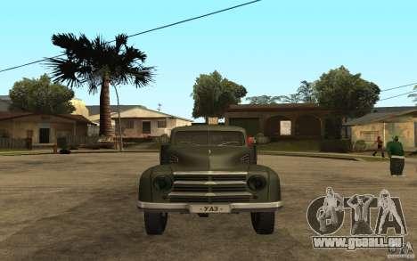 UAZ 300 pour GTA San Andreas vue de droite