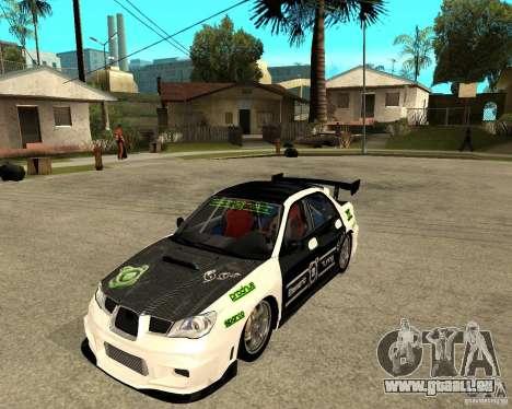 Subaru Impreza Elemental Attack pour GTA San Andreas